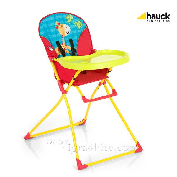 Hauck - Бебешки стол за хранене Mac Baby Jungle Fun 639146