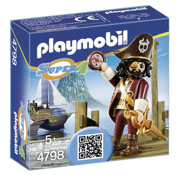 Playmobil - Пират с компас 4798