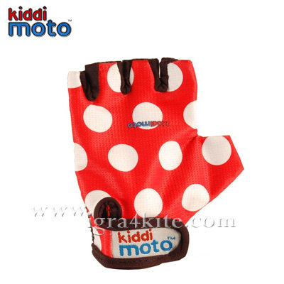 Kiddimoto - Детски спортни ръкавици за колело без пръсти S GLV012
