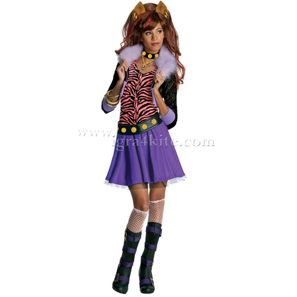 Детски карнавален костюм Monster High Clawdeen Wolf 884788