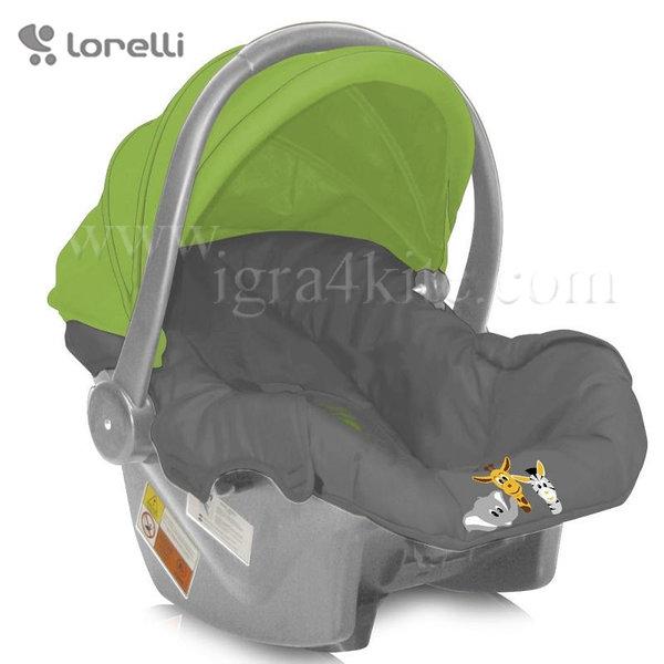 Lorelli - Стол за кола BODYGUARD FOXY BEIGE&TERRACOTTA (0-13kg) 100706515