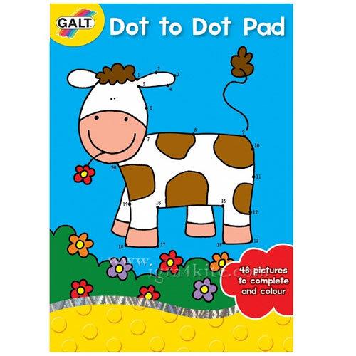 GALT - Детска книжка Свържи точките 3048
