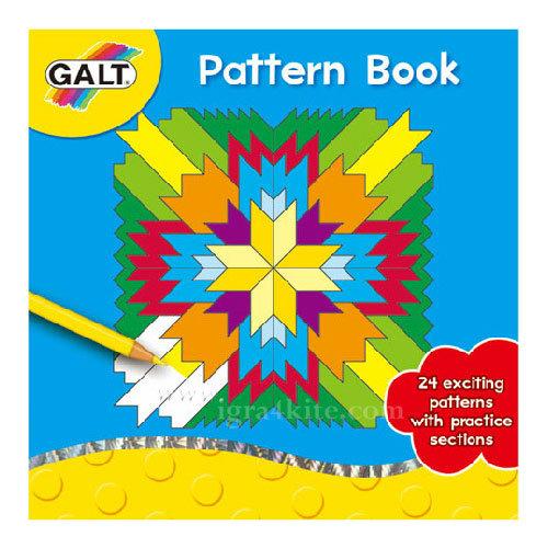 GALT - Книжка за оцветяване с мозайки 3065