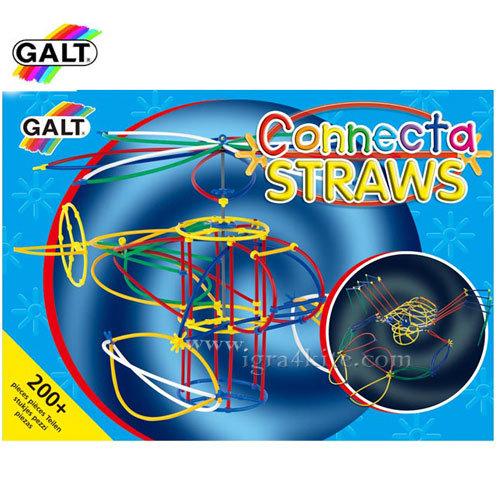 GALT - Детски конструктор с цветни пръчици 0545