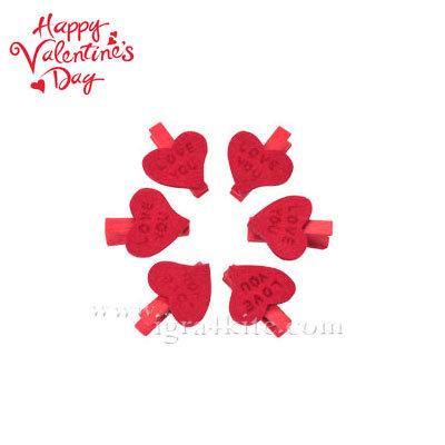 Декоративни щипки сърчица 22372801