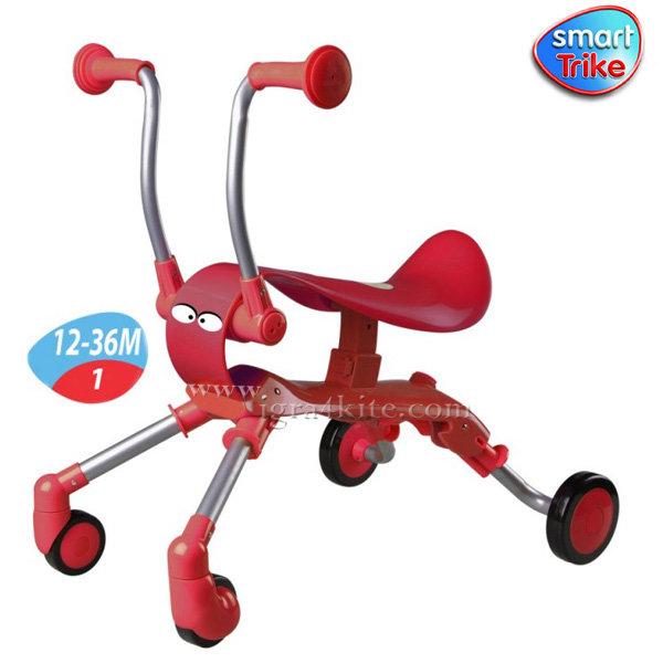 Smart Trike - Детско колело за бутане с крачета Springo red 9003500