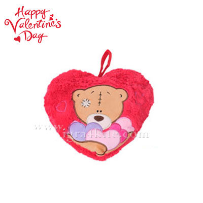 Плюшена възглавничка във формата на сърце 22232801