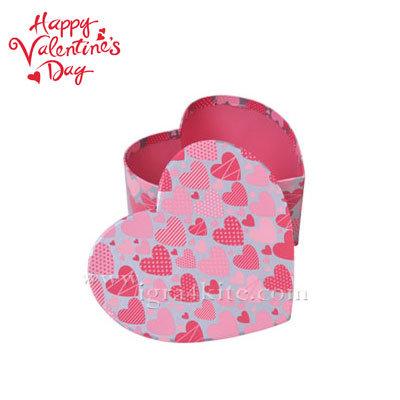 Подаръчна кутия сърце средна 22332801