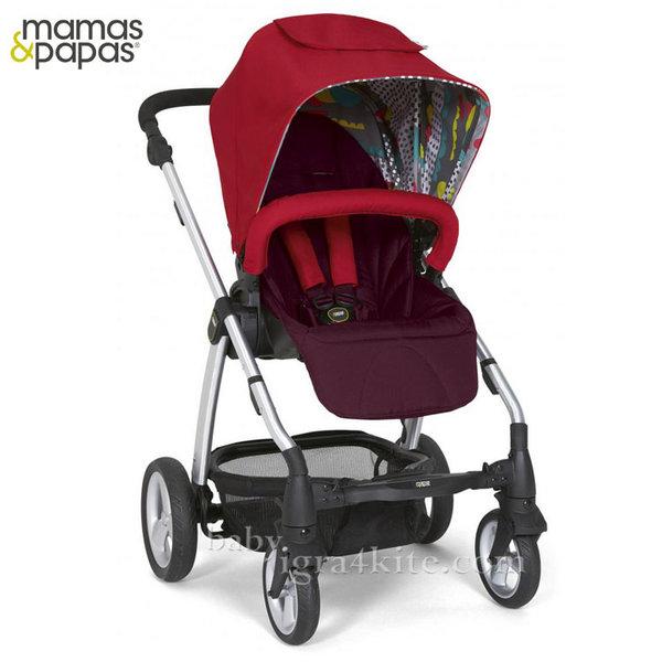 Mamas & Papas - Комбинирана количка Sola2 Bright Red