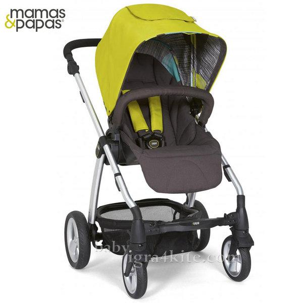 Mamas & Papas - Комбинирана количка Sola2 Lime Green