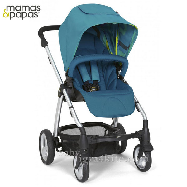 Mamas & Papas - Комбинирана количка Sola2 Blue Sea
