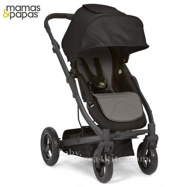 Mamas & Papas - Комбинирана количка Sola City Black Black Grey