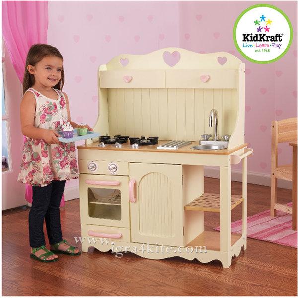 KidKraft - Детска дървена кухня Прерия 53151