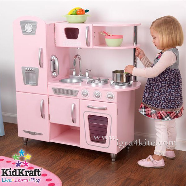 KidKraft - Детска дървена кухня Винтидж 53179