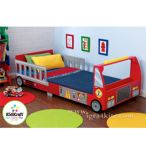 KidKraft - Детско легло Пожарна 76031