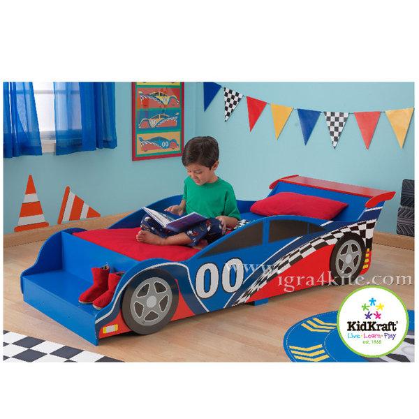 KidKraft - Детско легло Състезателна кола 76038