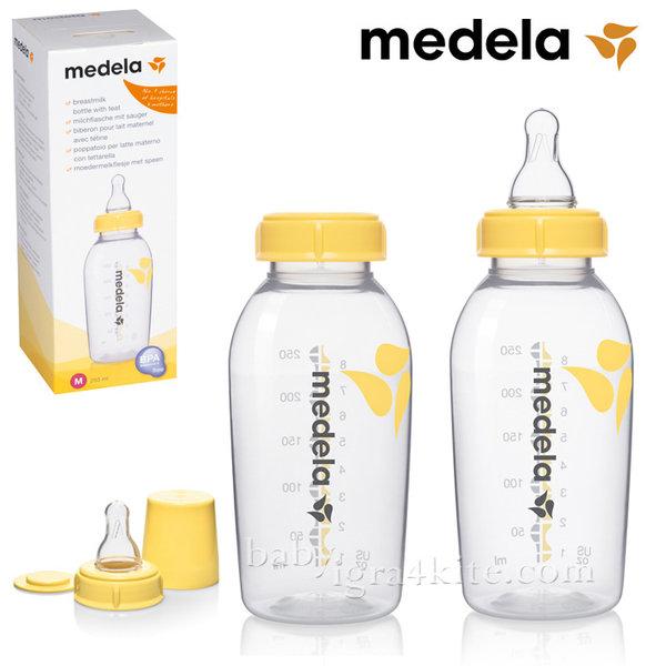 Medela - Бутилка за хранене и съхранение на кърма 250ml