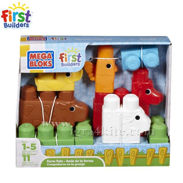 """Mega Bloks - My First Builders Големи блокчета """"Животни"""""""