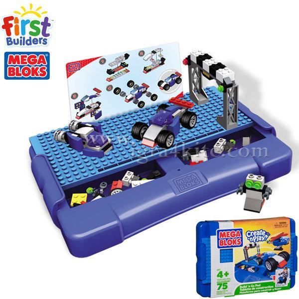 Mega Bloks - Игрален комплект Автомобили 00297