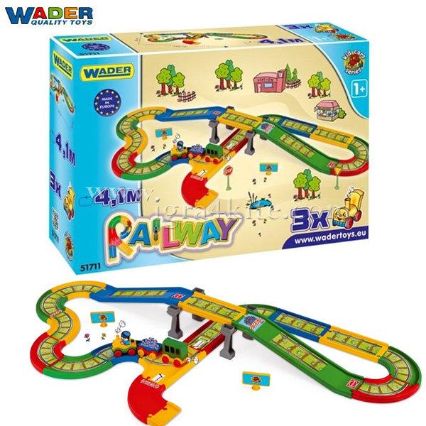 Wader Kid Cars - Влак с писта 51711