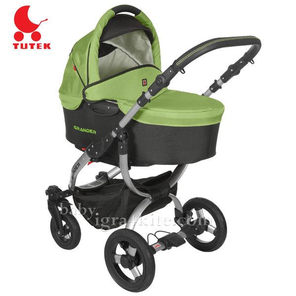 Tutek - Комбинирана количка 2 в 1 Grander Green