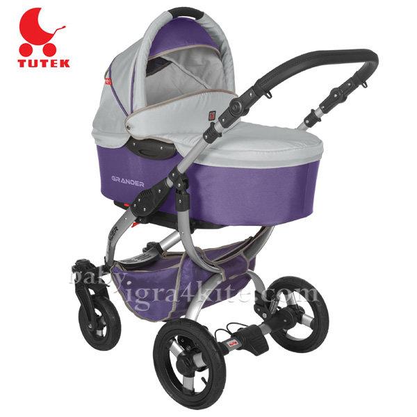 Tutek - Комбинирана количка 2 в 1 Grander Violet/Silver