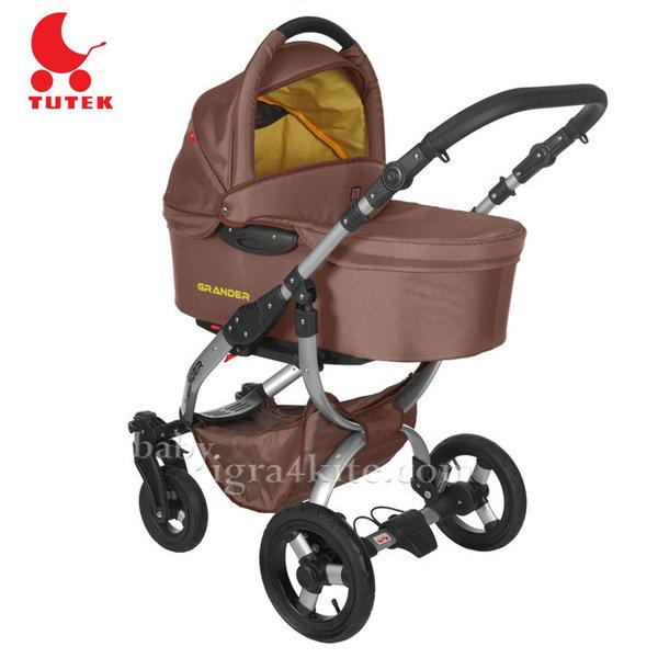 Tutek - Комбинирана количка 2 в 1 Grander Brown