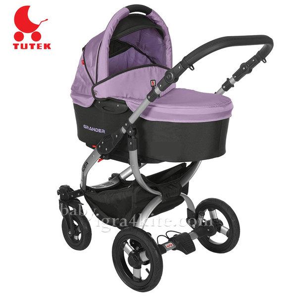 Tutek - Комбинирана количка 2 в 1 Grander Black/Heather