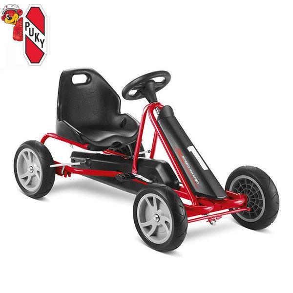 Puky - Детска картинг кола с педали 3+ F 20 червена 3308