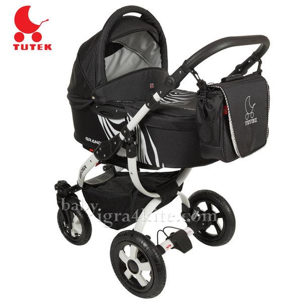 Tutek - Комбинирана количка 2 в 1 Grander Zebra