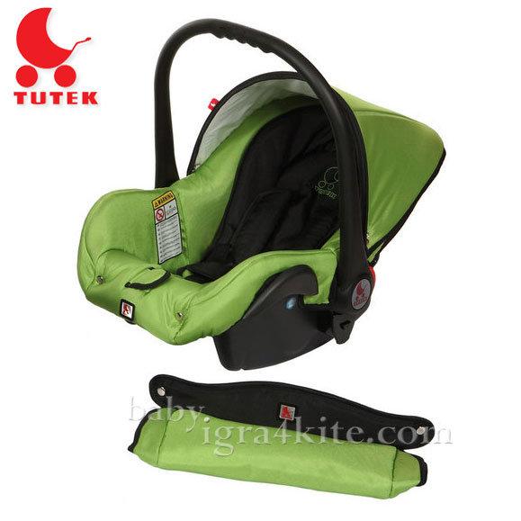 Tutek - Столче за кола Grander Black/Green