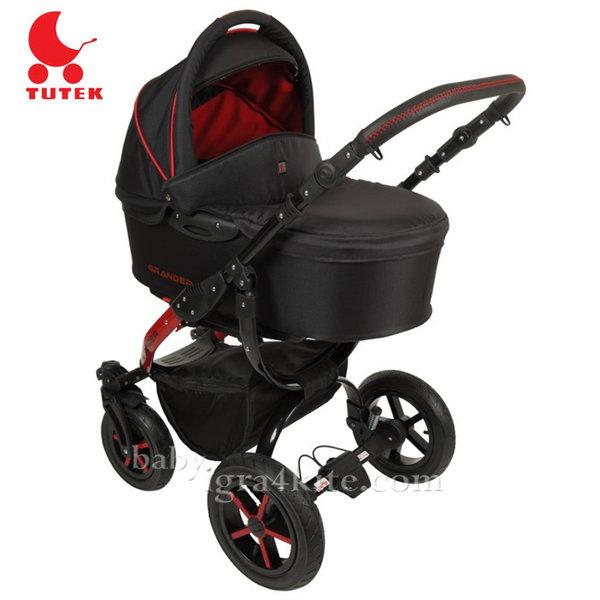 Tutek - Комбинирана количка 2 в 1 Grander Black