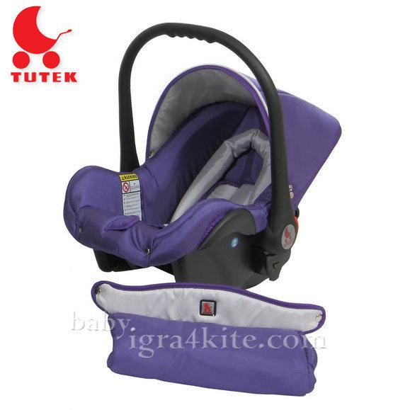Tutek - Столче за кола Grander Violet/Silver