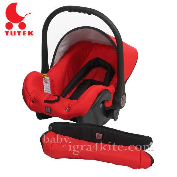 Tutek - Столче за кола Grander Red/Black