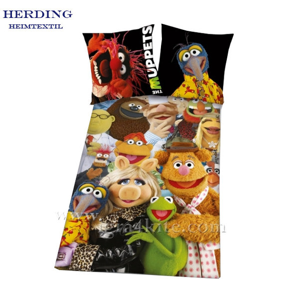 Herding - Детски спален комплект Muppets 2 части