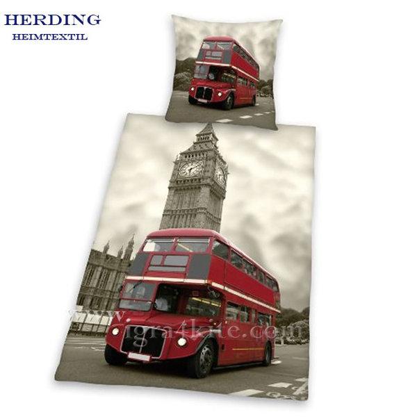 Herding - Спален комплект London Bus 2 части