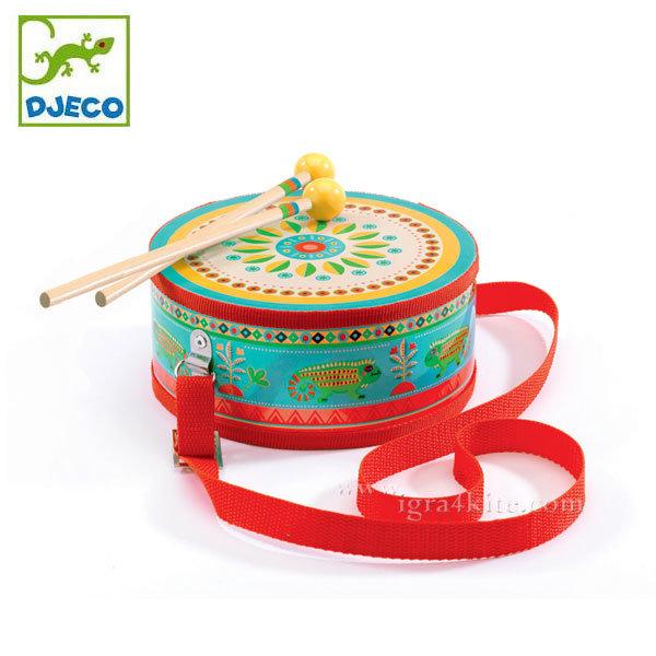 Djeco - Детско дървено барабанче 06004