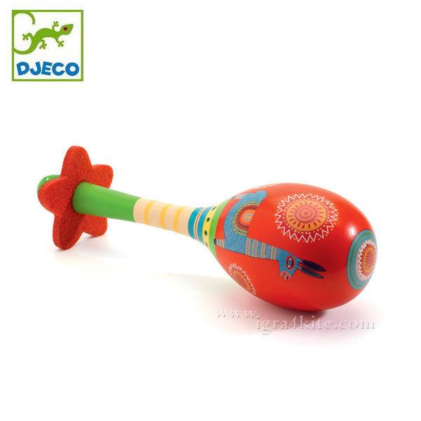Djeco - Детски дървен маракас Animambo 06008