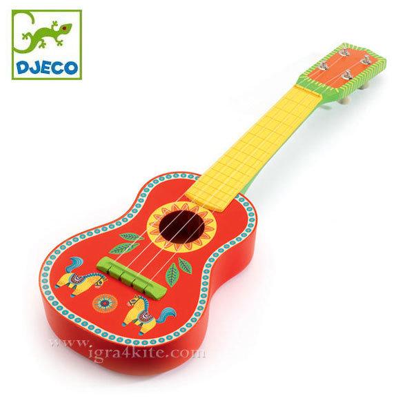 Djeco - Детска дървена китара Animambo 06013