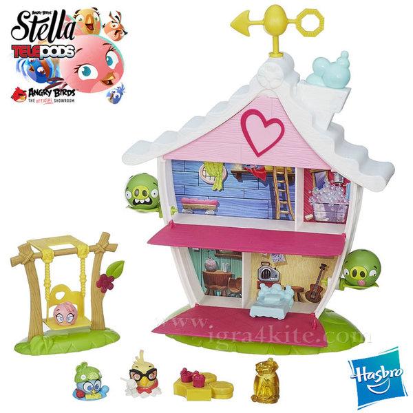 Angry Birds - Stella Telepods Къща на дървото a8886