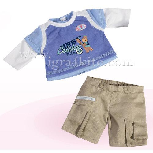 Zapf Creation - Baby Born Комплект дрехи за момче 807408