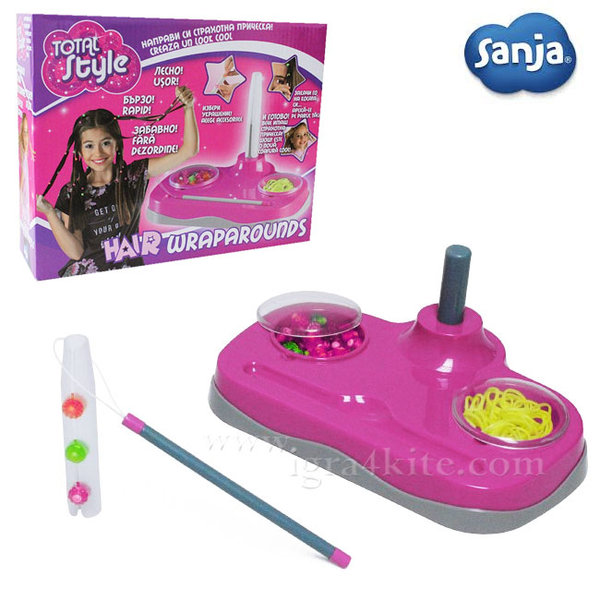 Sanja - Блестящо студио за прически Hair WrapArounds 5022