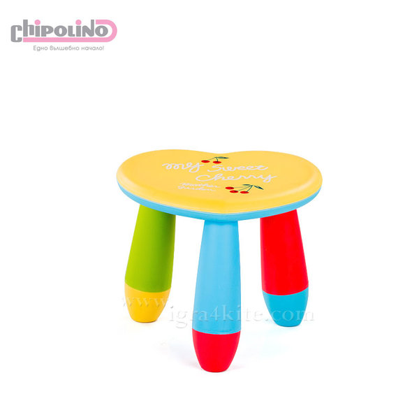 Chipolino - Детско столче сърце жълто