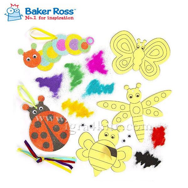 Baker Ross - Буболечки за оцветяване с пясък EV471