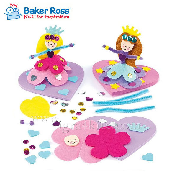 Baker Ross - Направи 3D принцеса ET593
