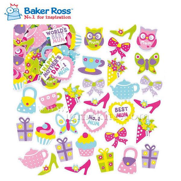 Baker Ross - Меки стикери за декорация ET6823