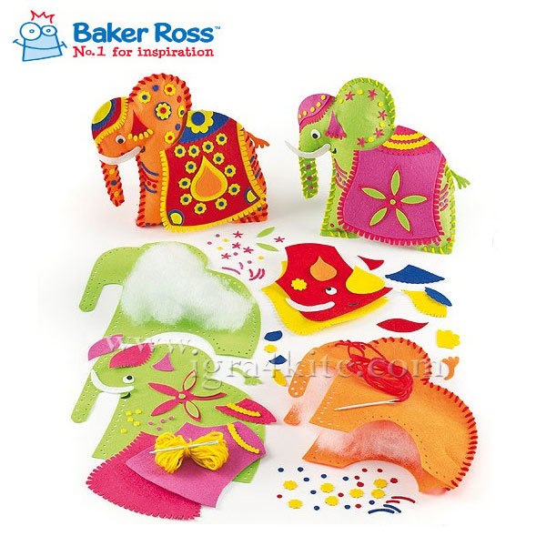 Baker Ross - Направи 3D Слонче EV390