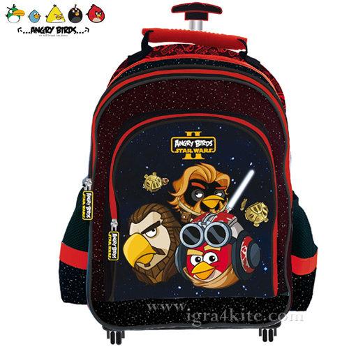 Angry Birds - Ученическа раница на колела Енгри Бърдс 290701