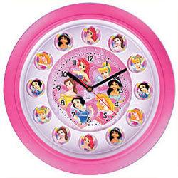Disney Princess - Стенен часовник Принцеси 257657