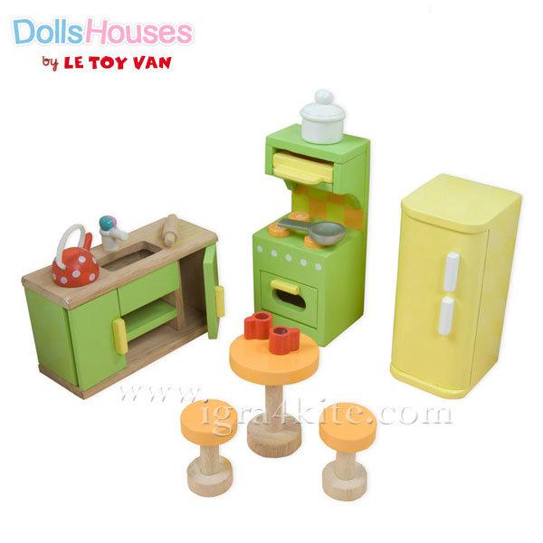 Le Toy Van - Обзавеждане за куклена къща Sugar Plam кухня ME052